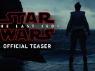 Teaser trailer Star Wars: The Last Jedi