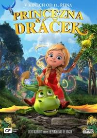 Princezná a dráčik film poster