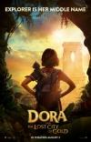 Dora a stratené mesto film poster