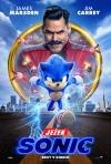 Ježko Sonic film poster