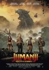 Jumanji: Vitajte v džungli film poster