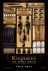Kingsman: Tajná služba film poster