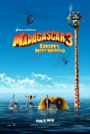 Madagaskar 3 film poster