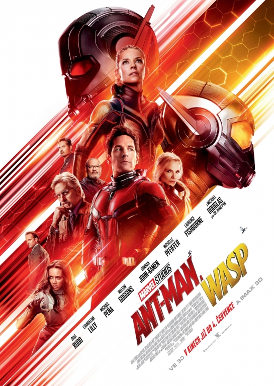 Ant-Man a Wasp film poster