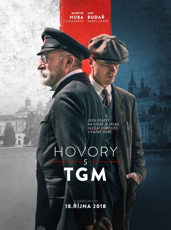 Hovory s TGM film poster