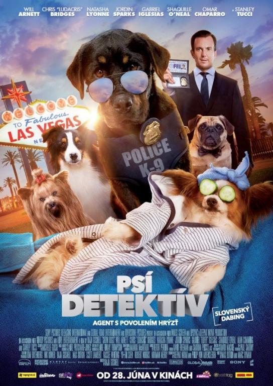 Psí detektív film poster